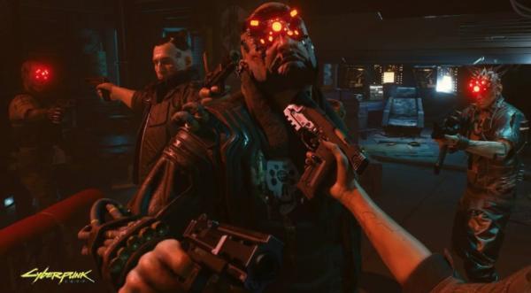 《赛博朋克2077》过场动画皆由第一人称,呈现包含羞羞脸的镜头