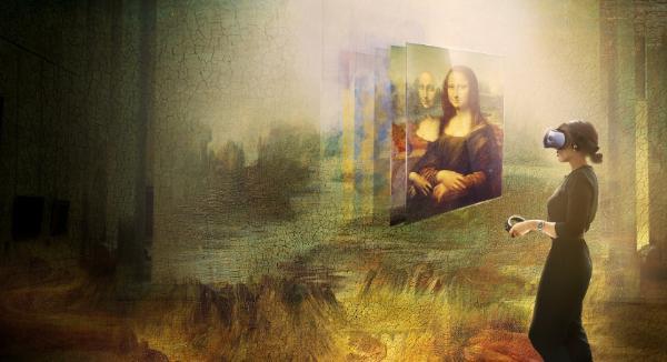 罗浮宫携手HTC呈现史上首次蒙娜丽莎虚拟实境体验