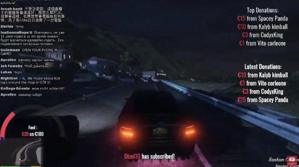 有人要在《GTA5》365天开车不断线直播,直到《GTA6》上市为止
