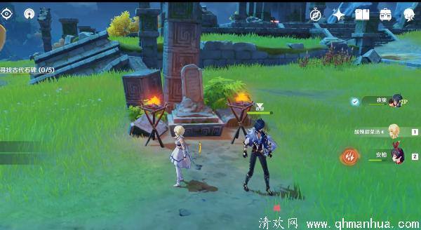 原神古代石碑5个石碑位置攻略