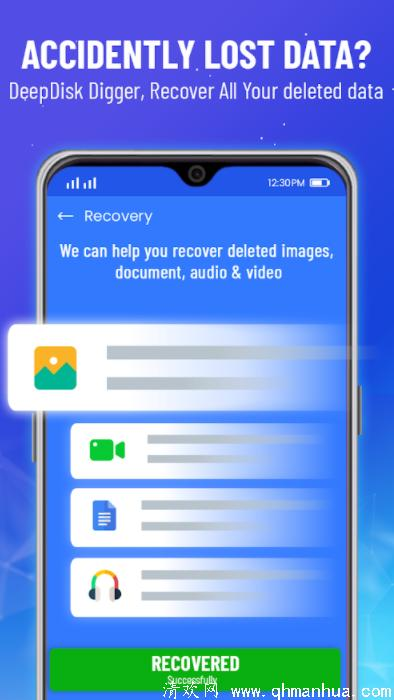 数据恢复 : 恢复删除照片恢复所有视频安卓手机app下载