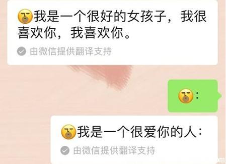 微信表情翻译怎么弄-你是不是很喜欢我是什么表情