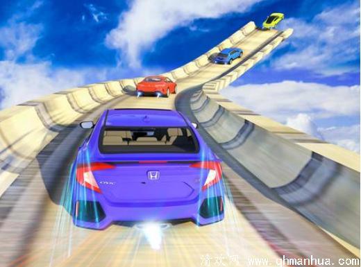 机载斜坡车:极限GT赛车赛车特技中文安卓版手游下载