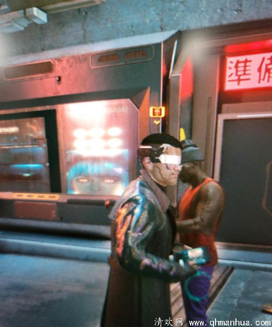 赛博朋克2077人物NPC头顶有一个骷髅头是什么意思