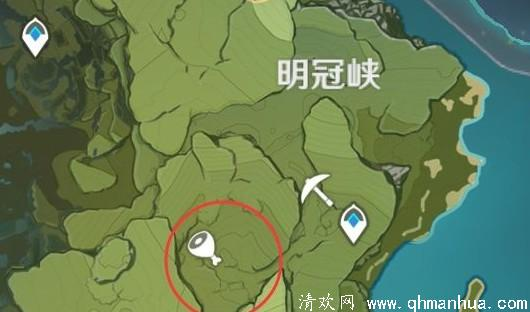 原神野猪林在哪里