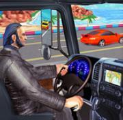 高速公路交通赛车3D卡车游戏
