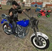 摩托车赛车明星-终极警察游戏