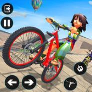 鲁Bike的自行车骑士特技游戏2020
